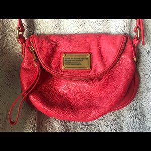 Marc By Marc Jacobs Red Leather Crossbody